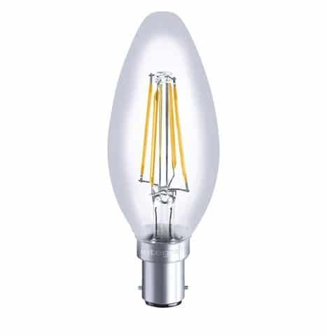 Integral Dimmable Filament Candle Lamp B15 SBC 3.5W