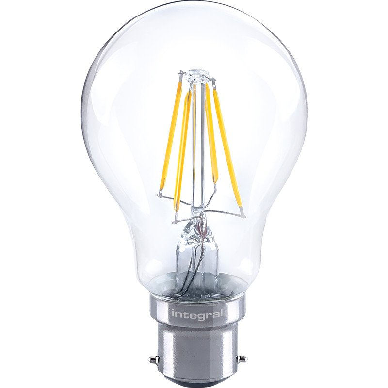 Integral Dimmable Filament GLS Lamp B22 BC 4.5W
