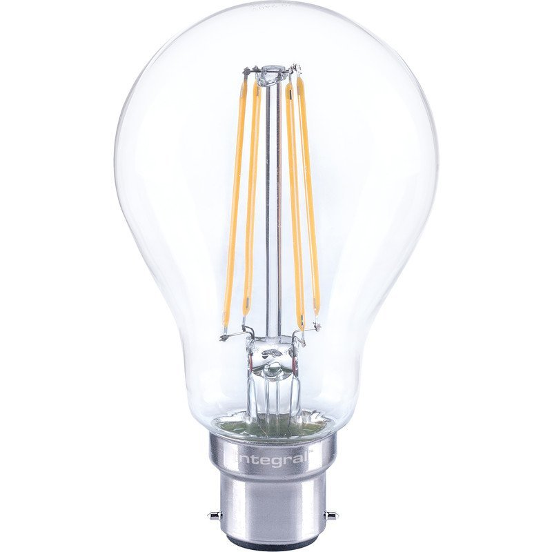 Integral Dimmable Filament GLS Lamp B22 BC 7W