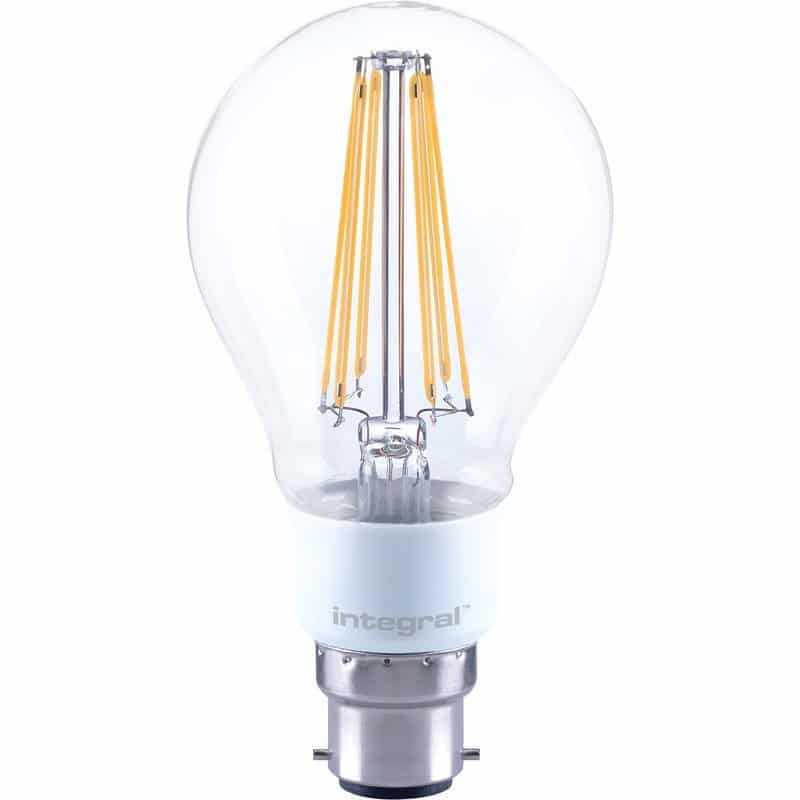 Integral Dimmable Filament GLS Lamp B22 BC 12W