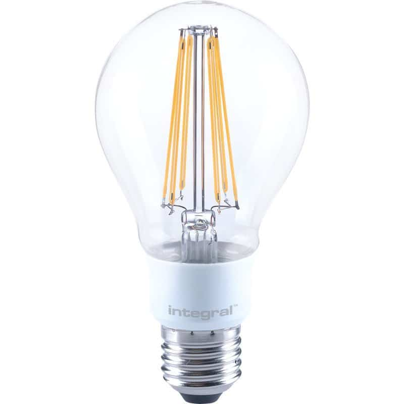 Integral Dimmable Filament GLS Lamp E27 ES 12W