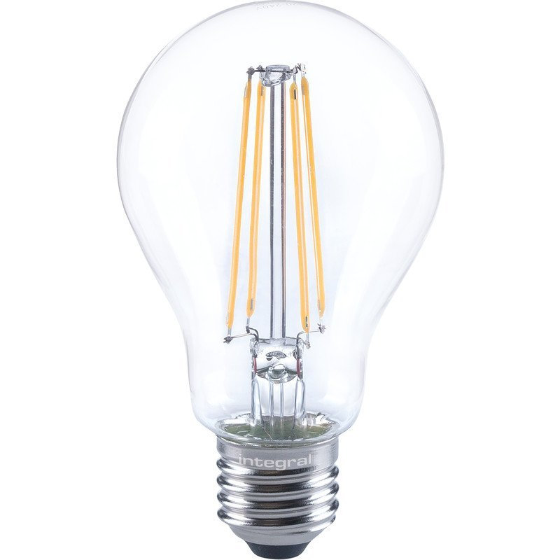 Integral Dimmable Filament GLS Lamp E27 ES 7W
